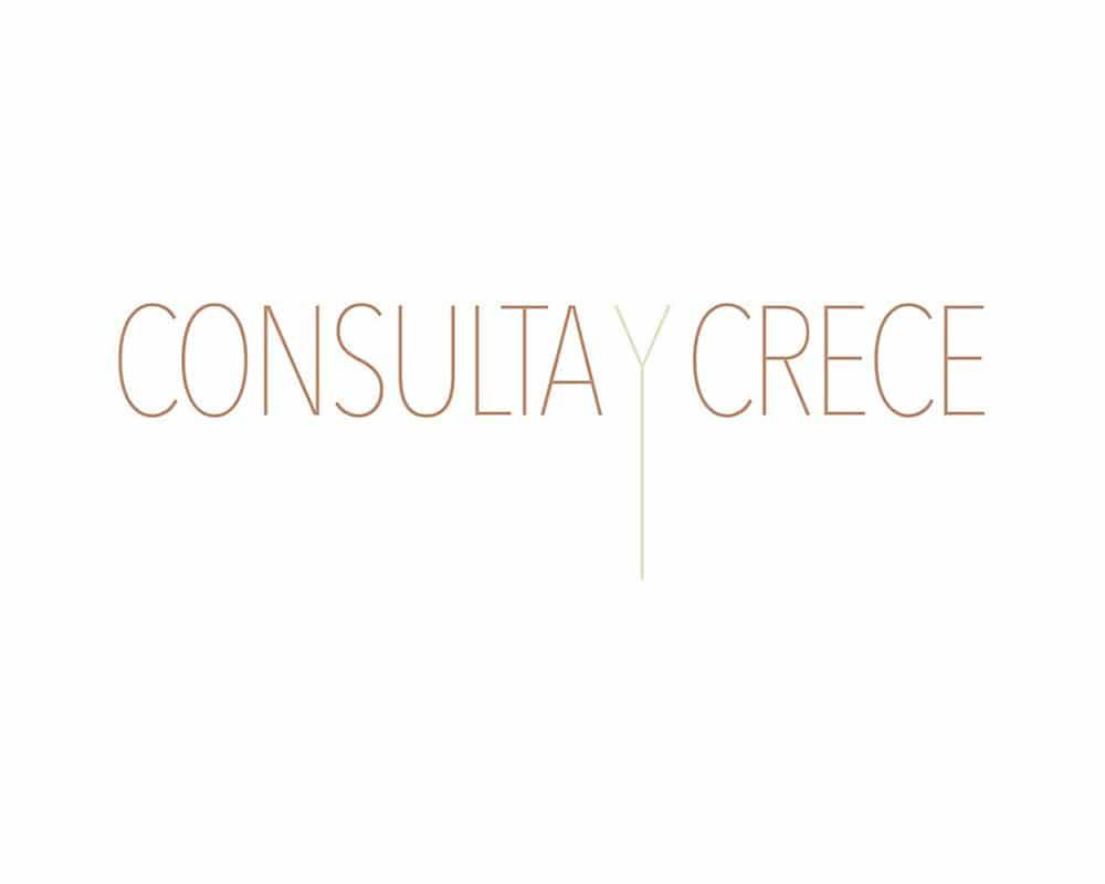Diseño de logo para Consulta y Crece