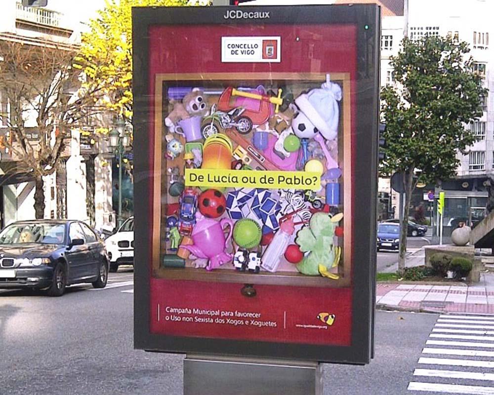 Diseño cartel igualdad Ayuntamiento de Vigo