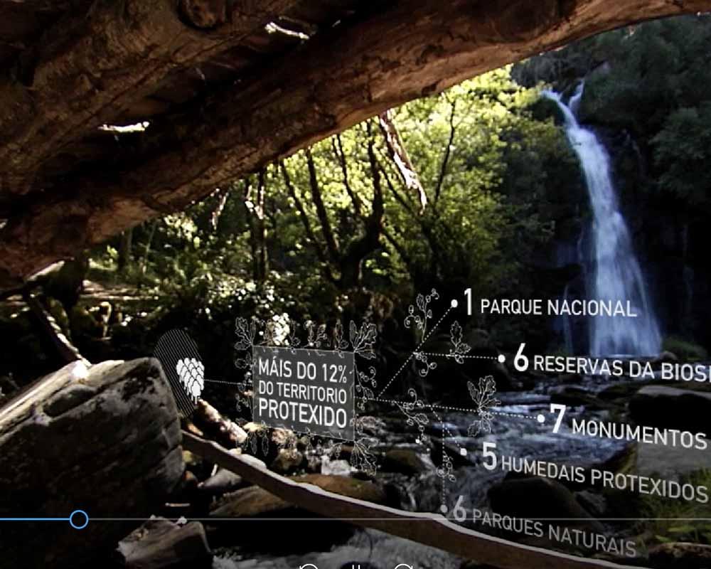 Videoley para Concellería de Turismo de la Xunta de Galicia
