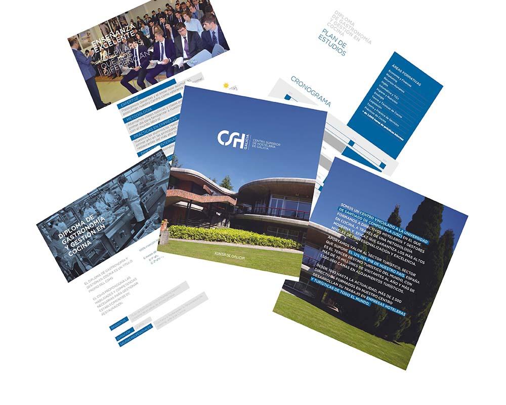 Creación de catálogo para CSH Galicia