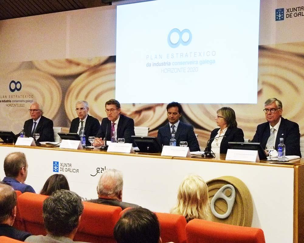 Organización integral de evento sector conservero gallego