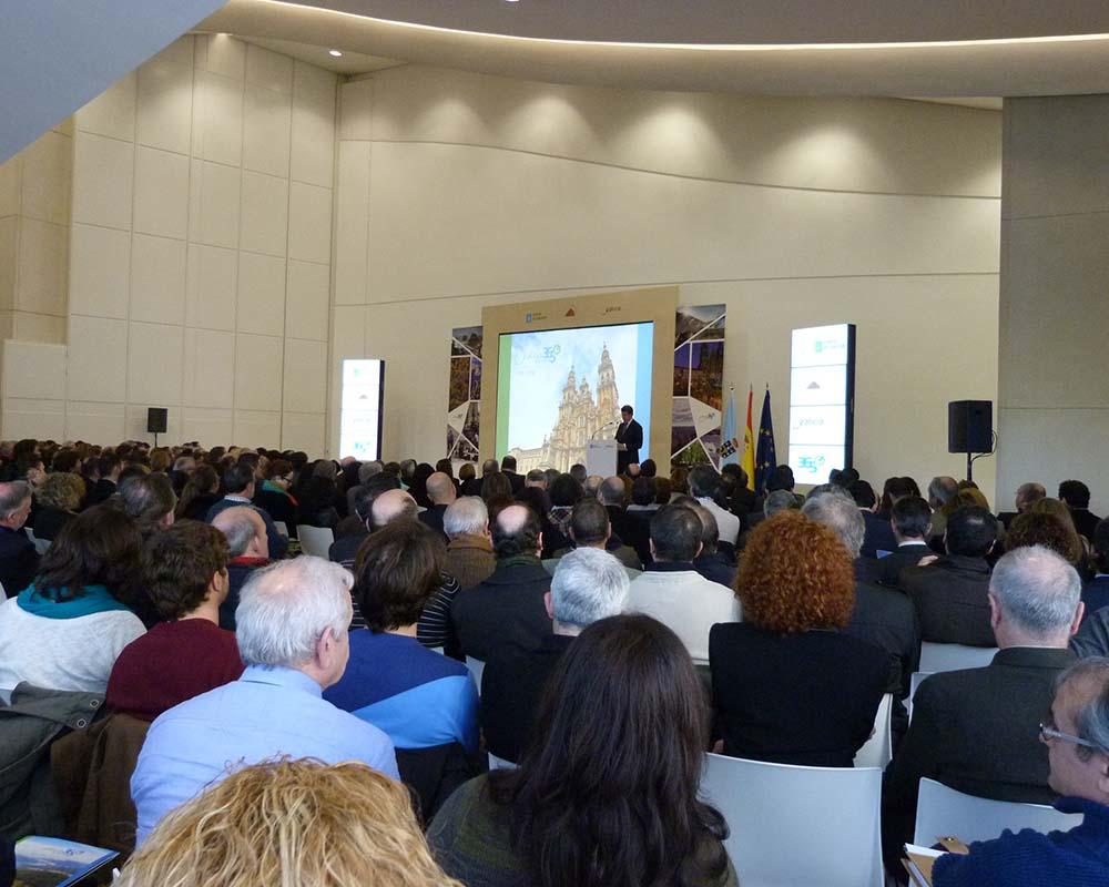 Organización de evento para la Xunta de Galicia