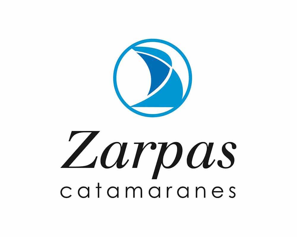 Diseño de logo para Zarpas Catamaranes